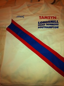 My personalised LRR tshirt