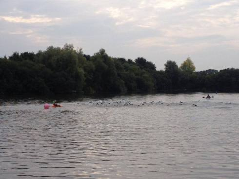 The start of the Sprint race ©Try Tri