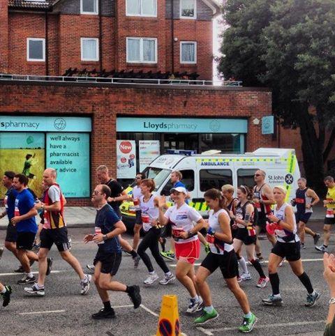 Start of New Forest marathon ©Stuart Smith