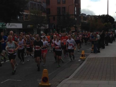 Start of the New Forest Marathon © Aniek Scorey