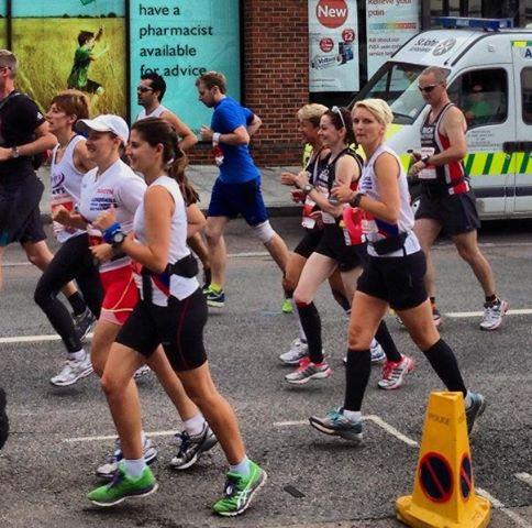 Starting the New Forest marathon (©Stuart Smith)