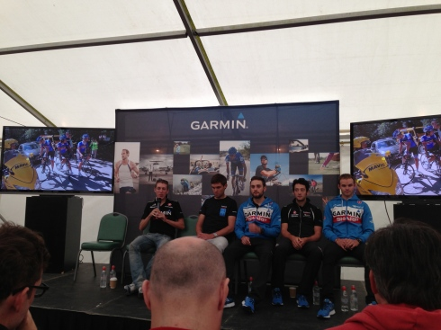 The Garmin Sharp team