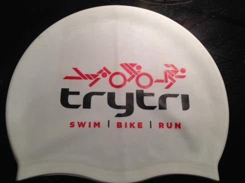 TryTri swimming hat ©Tamsyn Smith