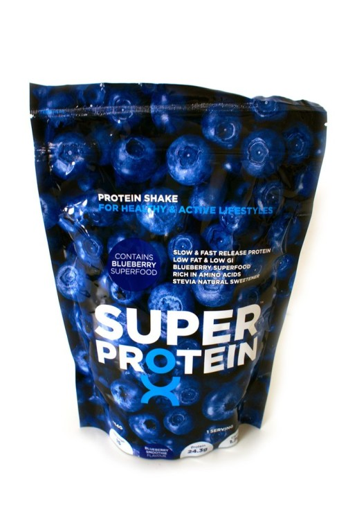 Superlife blueberry super protein powder