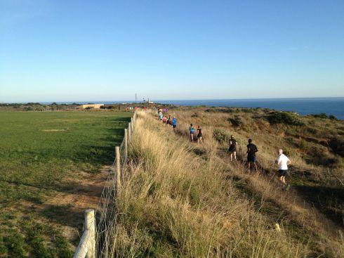 Lighthouse run - long view