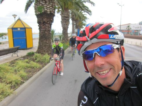 A selfie from John on the recovery ride