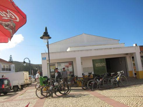 Bikes at cake stop
