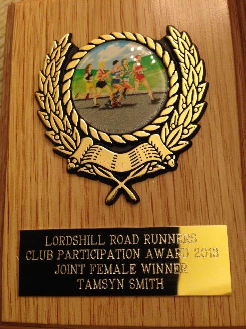 2013 participation award