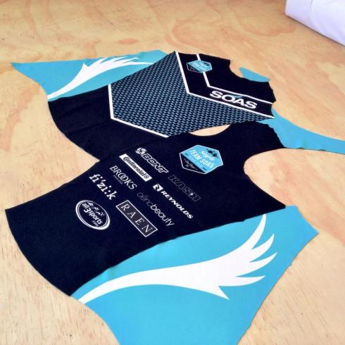 Sneak peeks at the Team SOAS kit