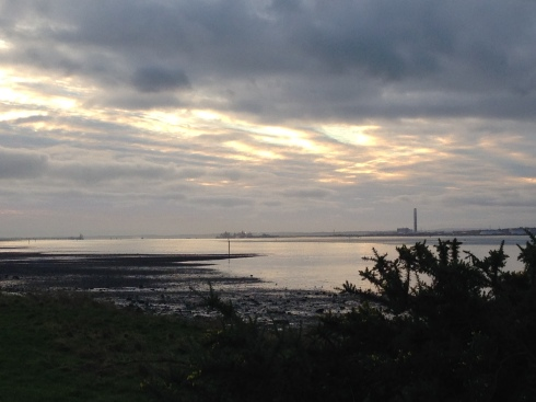 Beautiful view of the sky from Weston Shore