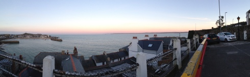 St. Ives Bay panorama