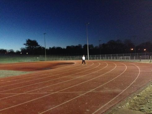 Southampton Athletics track