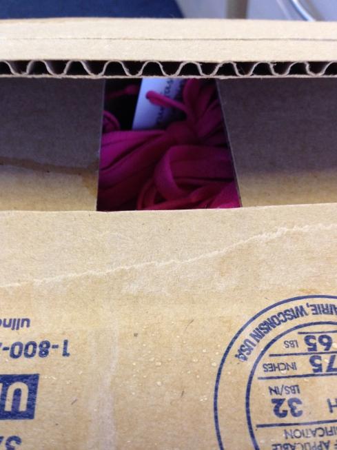 Opening my box
