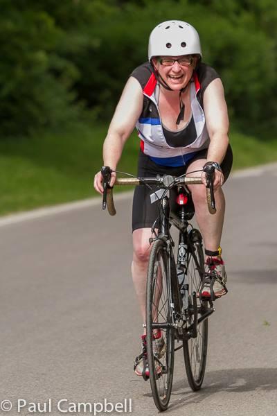Liz cycling