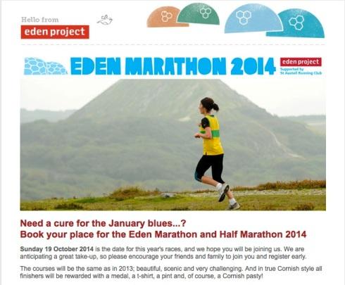 Eden Marathon