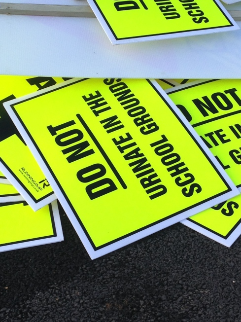Signs at Bramley 20