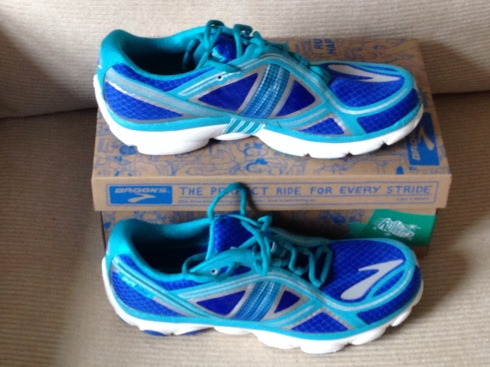 New Brooks shoes