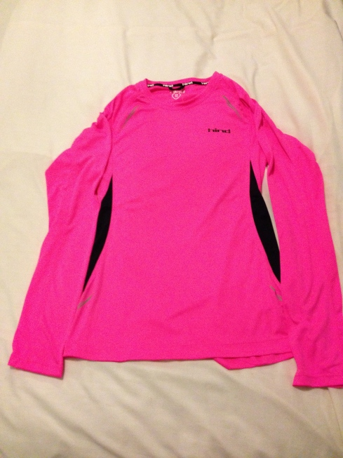 New running top