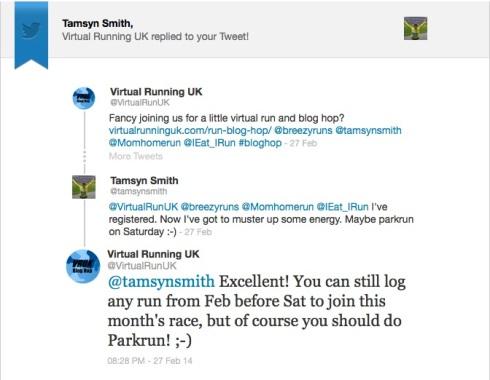 Virtual Running UK