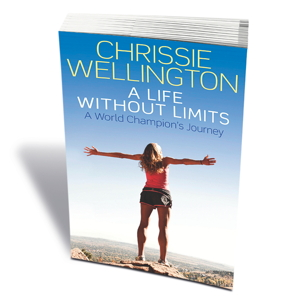 Chrissie Wellington's autobiography