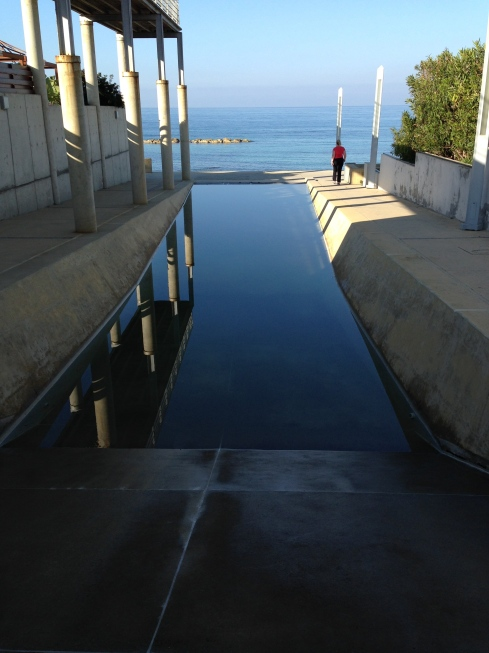 The infinity pool?