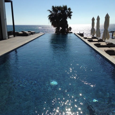 The real infinity pool