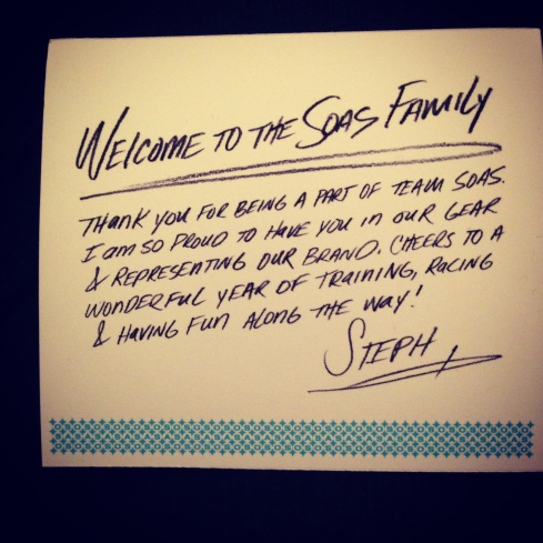 The note from Steph