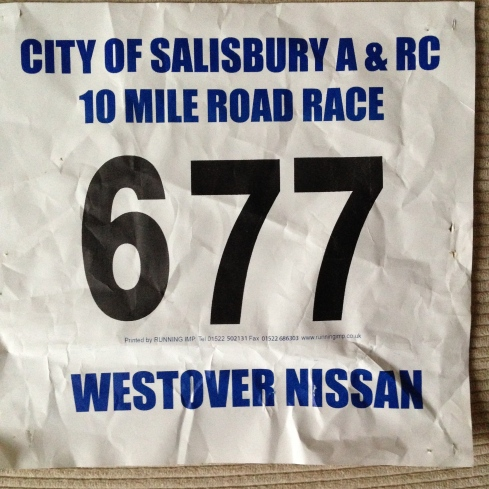 Salisbury race number