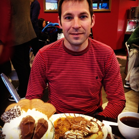 Stu at Sprinkles Gelato