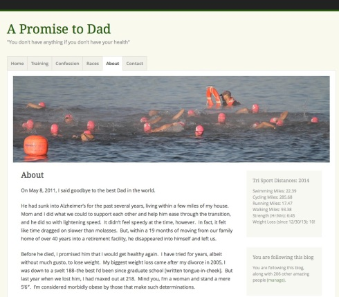 A Promise to Dad