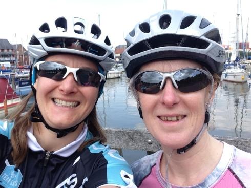 Bike ride with Teri