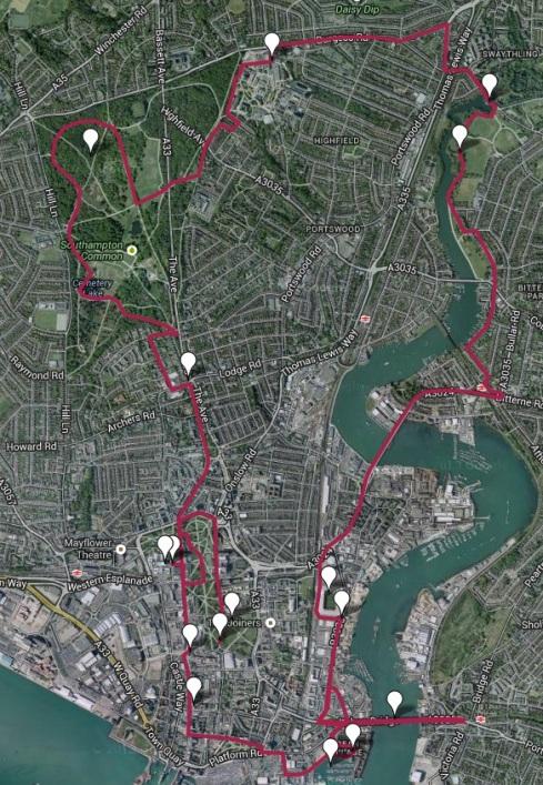 Marafun Southampton route