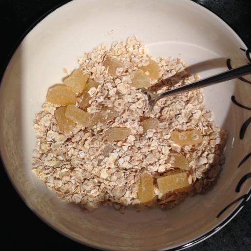Pineapple porridge