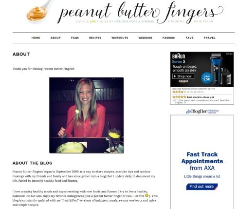 Peanut Butter Fingers