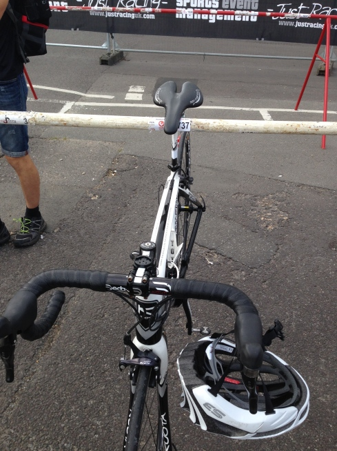 My bike in transition