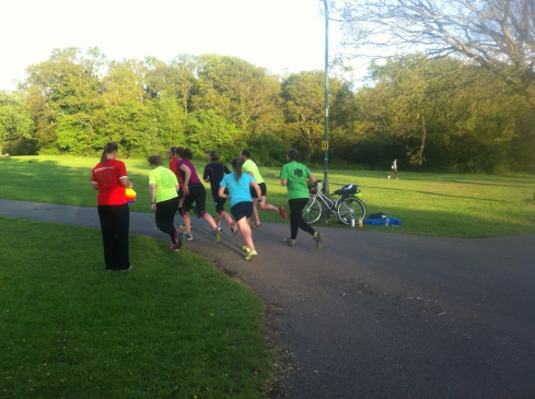 Coaching my running group