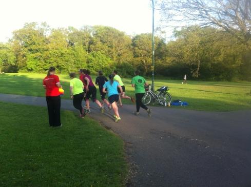 Coaching my running group