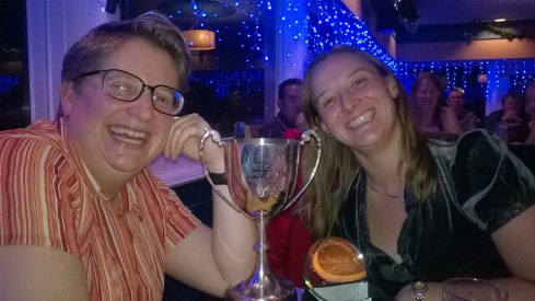 Celebrating with Liz