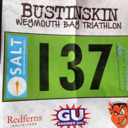 GU triathlon number