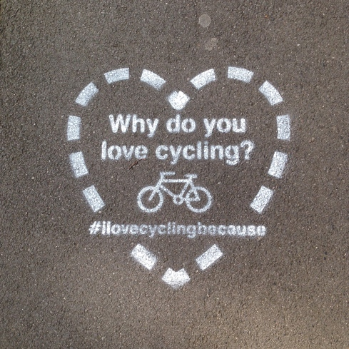 #ilovecyclingbecause