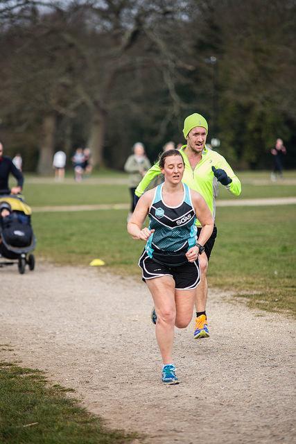 Sprint finish photo