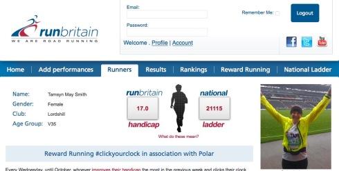 RunBritain screenshot