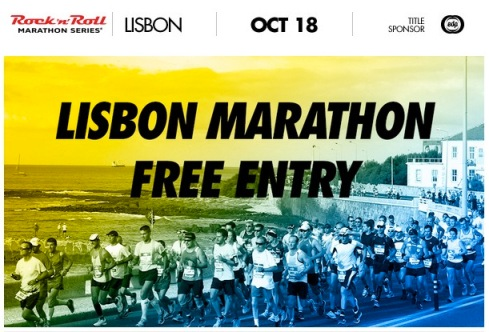 Lisbon Marathon free entry