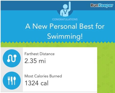4km swim