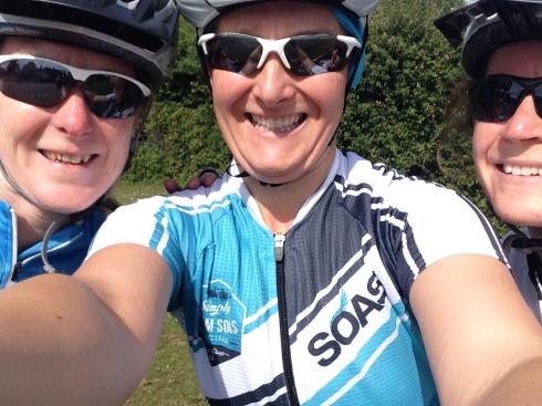 Selfie with Teri and Roelie