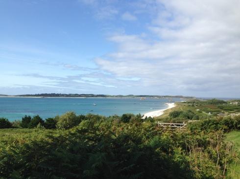 The view towards Tresco fomr St Martin's