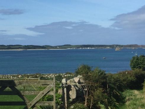 View towards Tresco from St. Martin's