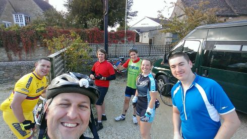 79 miles in, we stopped at Charlbury