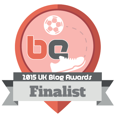 2015 UK Blog Awards finalist