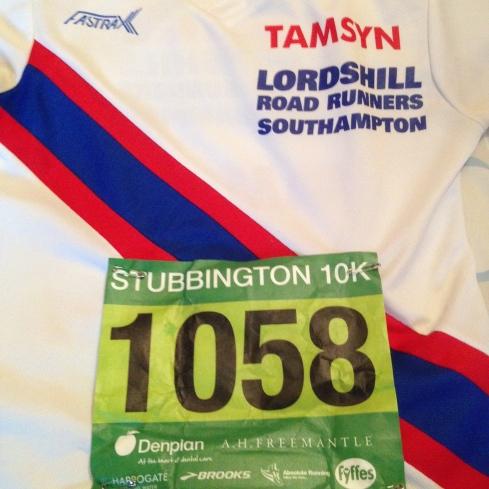 Stubbington race number